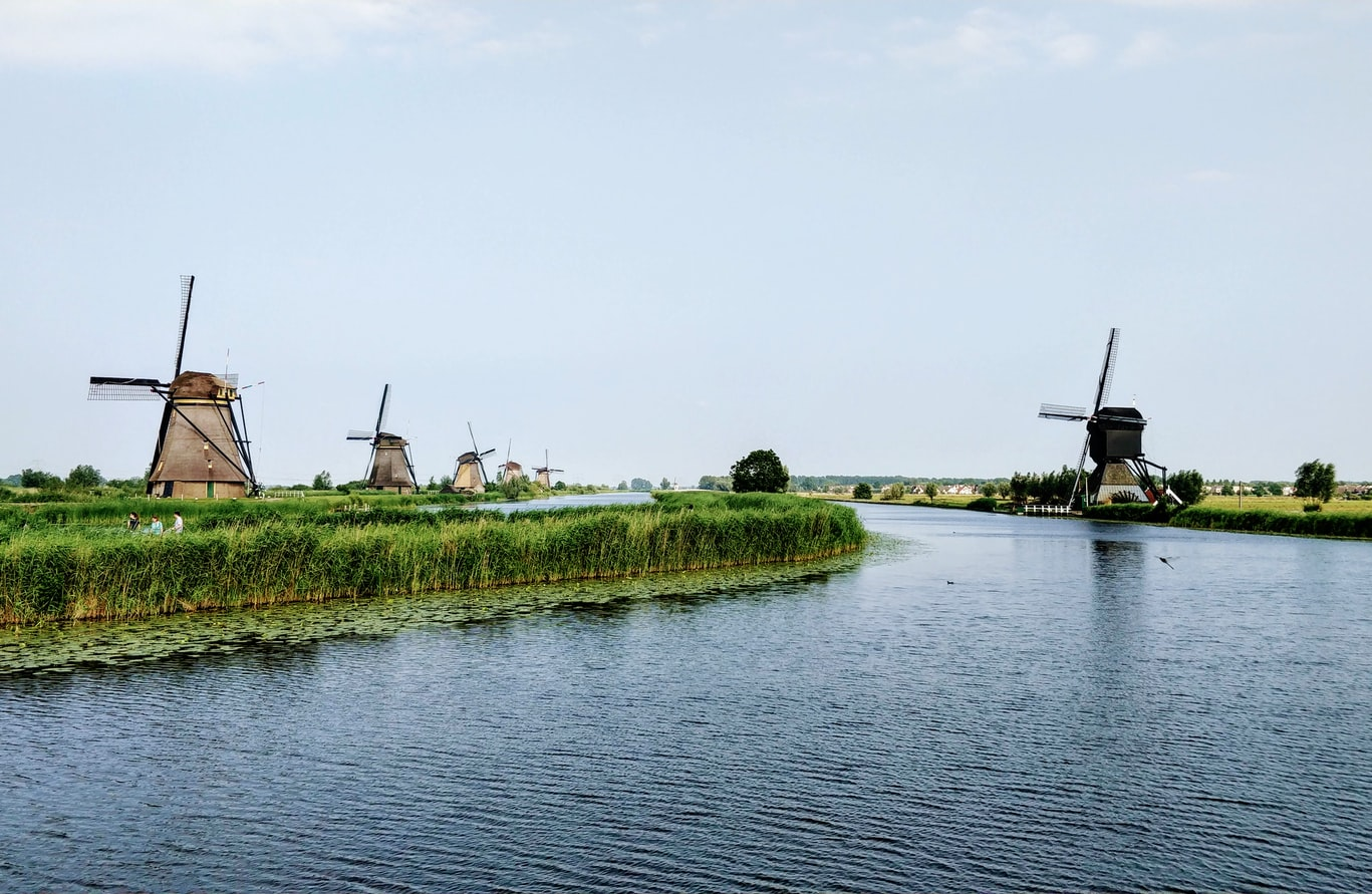 molens langs het water